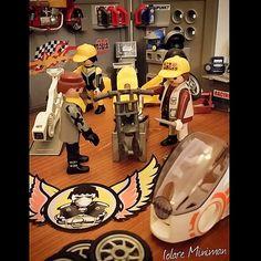 The garage ... #iolaire_miniman #playmobil #playmobillovers #playmobilfigures #playmobilmania #playmobilcollectorsclub #playmolove