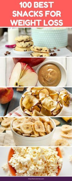 100 best snacks for weight loss