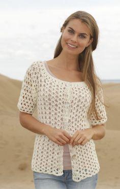 crochet pattern - vernal jacket- DROPS Design
