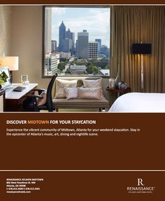 We have the perfect hotel packages for a #staycation in #Midtown, #Atlanta