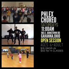 PHLEX CHOREO CLASS ::: Choreography Class Saturdays opened to the public @ 11:00am @ PHLEX FiTNESS 965 E. Johnstown rd, Gahanna, Ohio 43230 --- Come learn the routines that you see on the videos and have fun. Also we are putting together a Phlex Crew (dance crew) that will perform at half time at 2 HOUR EVENTS AND OTHER EVENTS AROUND THE COMMUNITY. For more info check out www.phlexfitness.com (oh and share) #DANCE #FITNESS #PHLEX #COLUMBUSOHIO Dance Fitness, Columbus Ohio, Have Fun, Public, Community, Events, Learning, Videos, Check