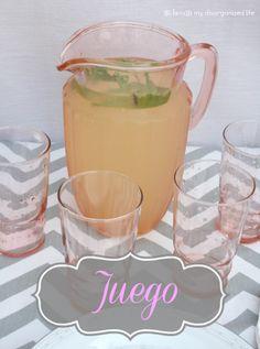 Juego: A Hydrating & Refreshing Drink/ {i love} my disorganized life
