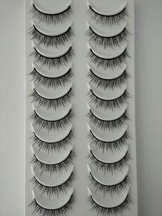 Model 21 Eyelashes No.20+N