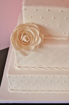 Wedding Cakes New Jersey - Ranunculus Custom Cake