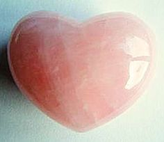 Rose Quartz - A stone of the heart - Crystal of unconditional love - Dissolves emotional wounds, fears and resentments Re-awakens the heart to its own innate love allowing one to truly give and receive love - Attracts new love, romance, intimacy and closer bonds with family and friends - Used as a love token since 600 B.C.