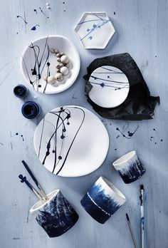 Clay bowl www.pandurohobby.com Clay by Panduro #decoration #DIY #bowl #decorate #paint