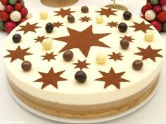 Tarta de café y chocolate blanco - MisThermorecetas No Egg Desserts, Mousse, Sweet Cooking, Drip Cakes, Candy Shop, Cakes And More, Let Them Eat Cake, Food Dishes, Chocolate Cake