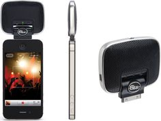 Blue Microphones Mickey Digital portable microphone for iOS devices hits shelves, offers mobile tracking for $100