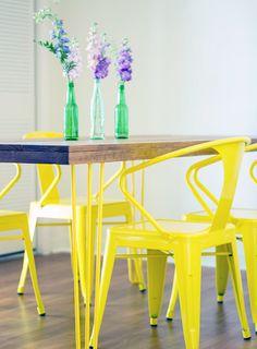 Newlyweds Breathe Color into a Miami Rental | Design*Sponge