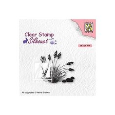 Tampon clear transparent scrapbooking Nellie Snellen PLANTE GRASSE 085 Tampons Transparents, Clear Stamps, Succulents