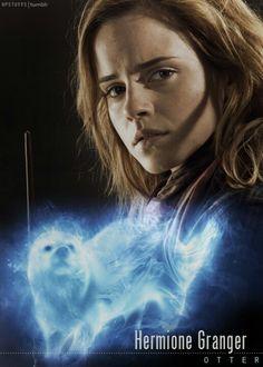 Hermione Granger is so smart that her patronus is Sherlock Holmes