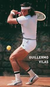 Guillermo Vilas.