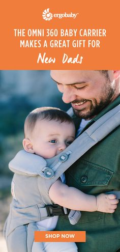 Great gifts for new dads: Omni 360 Baby Carriers! Ergonomic Baby Carrier, Hip Dysplasia, Gifts For New Dads, Baby Carriers, Babies Stuff, Baby Registry, Our Baby, Pregnancy, Baby Slings