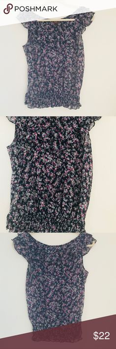 Nordstrom Multi Color Floral Blouse Thank you for checking out my listing 🌸  Pre worn, excellent condition, non smoker.    Feel free to ask any questions! Nordstrom Tops Blouses