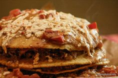 Quinoa Enchilada Casserole - didn't sound so great, but looks like it might be really good.