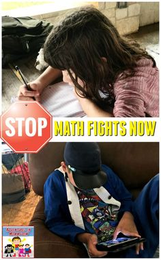 STOP MATH FIGHTS NOW • I have three very different children when it comes to math capability. At the end of the school year I needed math help. DESPERATELY.