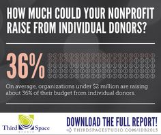 How much money should I be raising from individual donors?