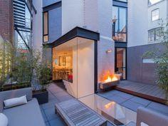 Modern row house in Washington, DC