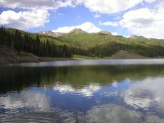Puffers Lake, Beaver, Utah - FishLake National Forest.