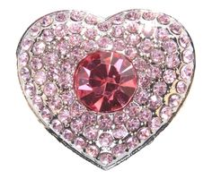 Pink Heart Crystal Jewel