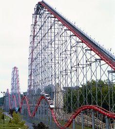 Steel Force, #DorneyPark, PA #rollercoaster #themepark