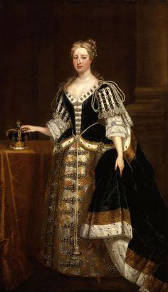 Caroline Wilhelmina of Brandenburg Ansbach, Charles Jervas, 1727