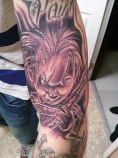 1000 images about my chucky obsession on pinterest for Bride of chucky tattoo