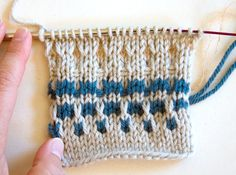 Knitting Techniques: Slip Stitch Colorwork Part II