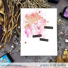 Visit the post for more. Christmas Makes, Christmas And New Year, Christmas Holidays, Snowflake Cards, Snowflakes, Xmas Cards, Holiday Cards, Spellbinders Cards, Simon Says Stamp