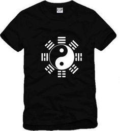 New Chinese Tai Chi Eight Diagrams Sportswear Printed Mens Men T Shirt Tshirt Short Sleeve O Neck Cotton T-shirt Tee