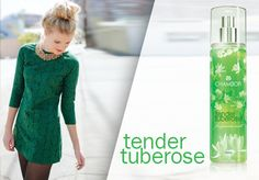 Tender Tuberose with the lingering sensuality of Jasmine and Orange Flower.