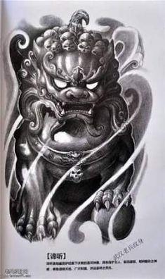 Japanese Sleeve Foo Dog Black And Gray Tattoos – tattoo sleeve women Tribal Tattoos, Asian Tattoos, Tattoos Skull, Dog Tattoos, Trendy Tattoos, Body Art Tattoos, Japanese Dragon Tattoos, Japanese Tattoo Art, Japanese Tattoo Designs