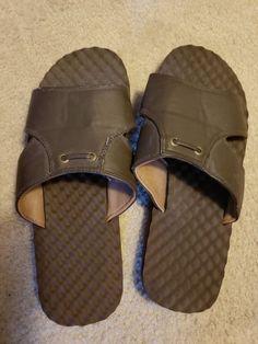 f1d7f4fca623c6 Mens Docker brown Sandals size 11  fashion  clothing  shoes  accessories   mensshoes