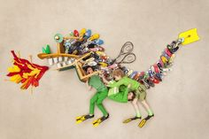 Jan von Holleben creates whimsical scenes of a kid-friendly world with adorable children and everyday household items.