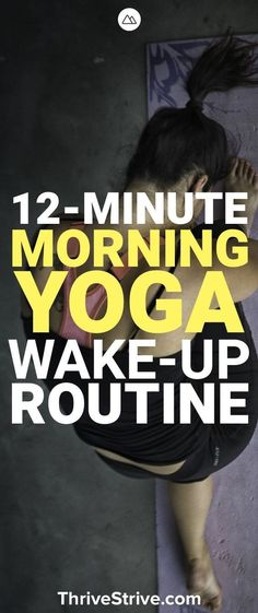 Looking for a morning yoga workout routine for beginners? This yoga workout will help you get the blood flowing and improve your flexibility. Wake up with yoga for stress, abs, and fat-burning.