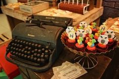 Details + Cupcakes from a Boy Who Lived - Harry Potter Birthday Party via Kara's Party Ideas | KarasPartyIdeas.com (26)