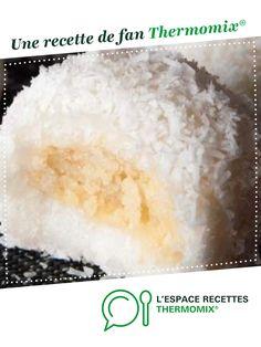 Boules de coco asiatiques par Sabrina-Georges. Une recette de fan à retrouver dans la catégorie Desserts & Confiseries sur www.espace-recettes.fr, de Thermomix®.
