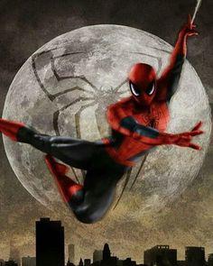 Spidey!! Art by Scott Harben  #SpiderMan #Marvel #MarvelComics #Comics #ConceptArt #Art #Artist #Superhero
