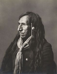 An old photograph of Eagle Nose - Blackfoot.