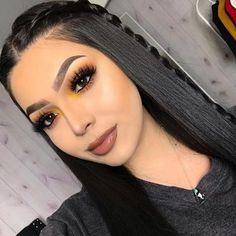 U-Part Lace Front Wigs Brazilian Human Hair straight Long Wigs Prom Makeup Looks, Cute Makeup, Gorgeous Makeup, Party Makeup, Awesome Makeup, Cheap Makeup, Glam Makeup, Makeup Geek, Wedding Makeup