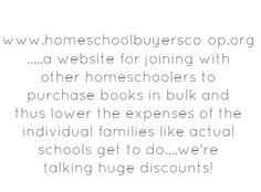 www.homeschoolbuyersco-op.org .....a website for joining - Share As Image