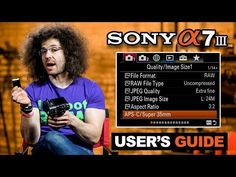 This is the Sony III Users Guide! We all know how boring the users manual can be, that's why I created this video tutorial on the Sony III, to help you. Camera Nikon, Camera Gear, Photography For Beginners, Photography Tips, Royalty Free Music, User Guide, Videos, Digital Camera, Picture Video