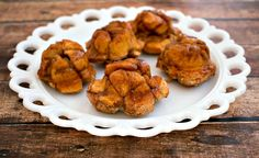 Apple Monkey Bread Muffins - an easy apple dessert for the family to enjoy made with refrigerator biscuits