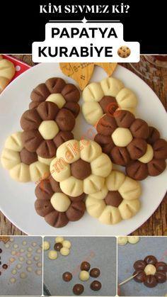 Papatya Kurabiye recipe, how to? (Nut cracker) - Papatya Kurabiye recipe, how to? (Nut cracker), biscuit B - Pizza Recipe No Yeast, Potato Pizza Recipe, Biscuit Recipe, Muffin Recipes, Pizza Recipes, Cookie Recipes, Mothers Cookies, Canned Blueberries, Artisan Pizza
