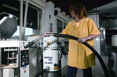 Aspiradoras industriales de línea blanca con todos los requisitos en materia de higiene, limpieza, seguridad y rendimiento.
