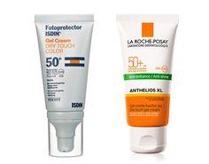Protector solar pieles grasas: Protector en gel 'Dry Touch Color' de Isdin