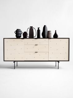 Confetti Credenza by Moving Mountains; handmade furniture and accessories Cabinet Furniture, Furniture Design, Furniture Dolly, Art Furniture, Kitchen Furniture, Office Furniture, Modern Sideboard, White Credenza, Modern Dresser