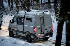 Hand crafted in Troutdale, OR. The leader of epic custom van conversions. Mercedes Sprinter 4x4, Mercedes Sprinter Camper, Benz Sprinter, Adventure Car, Vw Crafter, Sprinter Van Conversion, 4x4 Van, Expedition Vehicle, Van Camping