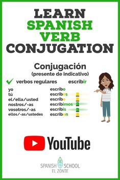 Learning Spanish For Kids, Spanish Language Learning, Learn Spanish, Spanish Lessons, Spanish Grammar, Spanish Teacher, Spanish Verb Conjugation, Spanish Online, Looking For People