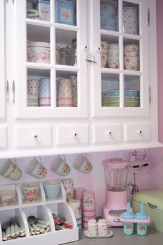 Shabby Little Kitchen Corner I Want These Doors There So Cute Cant Wait Till We Buy Our Home